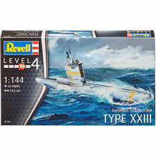 Revell german submarine type xxii niveau 4 (échelle 1:144) nouveau kit first class post