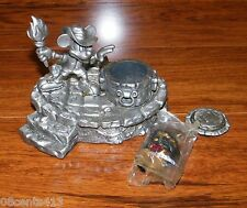 Official Disneyana Convention 1999 Pewter Mickey Mouse & The Treasure Figurine