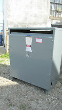 Square D/Sorgel Insul Transformer 150 KVA, 480V 3Ph Cat# 150T3HFISNLP .. OD-401
