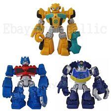 """3pcs Transformers Robots Optimus Prime Bumblebee 8cm/3.2"""" PVC Action Figure"""