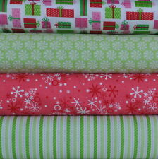 Christmas Candy White Presents FQ Bundle, Doodlebug Designs for Riley Blake 1 yd
