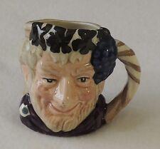 Vintage Royal Doulton Miniature Toby Character Mug Jug Bacchus D6521 New