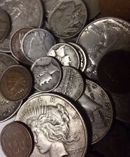 TOP Seller 50+ Yr Old US Coins Genuine 90% Silver Quarters&Dimes, Nickels ,Cents