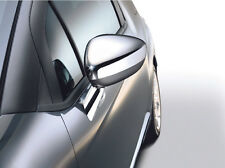 Genuine Citroen C3 Door Mirror Covers in Chrome Finish - Supplied as a Pair