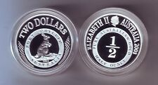 2003 SILVER Proof $2 Kangaroo Coin Port Phillip ex Masterpieces Set ***