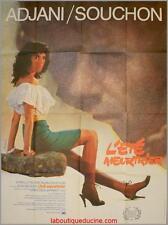 L'ETE MEURTRIER Movie Poster / Affiche Cinéma ISABELLE ADJANI ALAIN SOUCHON