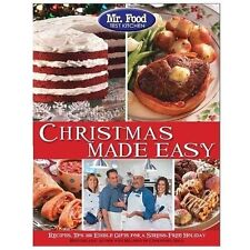 Mr. Food Test Kitchen Christmas Made Easy: Recipes, Tips and Edible Gifts for a