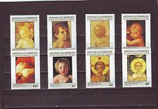 ANTIGUA - SG1691-1698 MNH 1992 CHRISTMAS - DETAILS OF HOLY CHILD