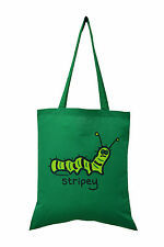 SALE! NEW TOTE BAG: CATERPILLAR, Lettuce Green, 100% cotton