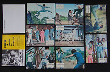 CHEN LA FUREUR DU KUNG FU 9 lobby card photo scenario film 1960s KARATE