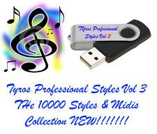 10,000 Yamaha Tyros stili e MIDI'S Chiavetta USB NUOVISSIMO!!! Rilascio. GUARDA!!!