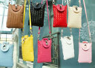Girls Coin Purse Cell Phone Case PU Weave Shoulder Cross-body Bags Zero Wallet