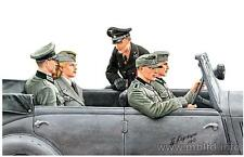 Masterbox 1:35  WW2 German staff car passengers (figures only)