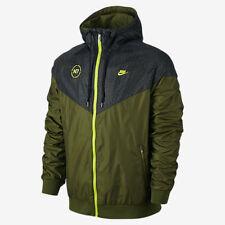 Nike N7 Windrunner Men's Tech Jacket Green Olive 677600 301 SZ XL Tech Fleece