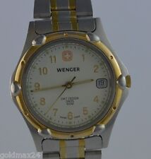 WENGER SMT Design 100m - Swiss made - Herrenuhr / Quarz / Bicolor