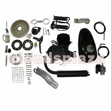 +80cc 2-Stroke Motor Engine Kit Gas for Motorized Bicycle Bike NEW Black