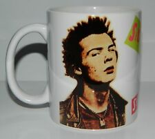 SID VICIOUS / SEX PISTOLS - 11oz MUG. GREAT PICTURE & LETTERING ** LIMITED STOCK