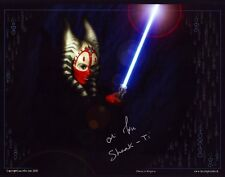 Orli Shoshan - Star Wars -  Autogramm - Original - Signed - Shaak Ti