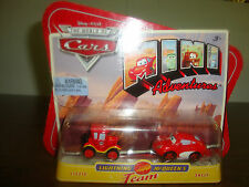 Disney---Cars---Lightning McQueen's Team---Lizzie & Sally---Diecast
