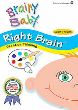 Brainy Baby - Right Brain/Playful Baby (DVD, 2007, Includes Audio CD)