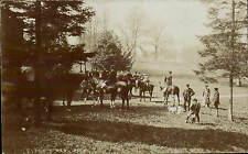 Eyford Park near Stow on the Wold. Hunt Meet by A.Collett, Bourton on the Water.