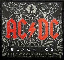 "AC/DC AUFNÄHER / PATCH # 46 ""BLACK ICE"""