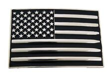 USA American Flag Belt Buckle Men Women Fashion Western Cowboy Cowgirl 50 Stars.