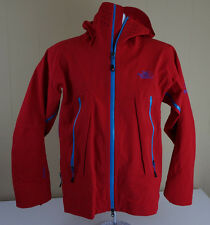 The NORTH FACE SUMMIT SERIES HYVENT ALPHA HOODED JACKET Men's Small Rain Red