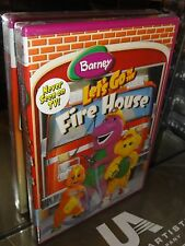 Barney - Let's Go to the Fire House (DVD) BRAND NEW!