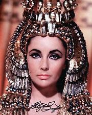 Elizabeth Taylor - Cleopatra - Cleopatra - Signed Autograph REPRINT
