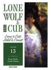manga Lone Wolf & Cub Tome 13 Kazuo Koike Kojima Seinen Panini Rare And TBE VF