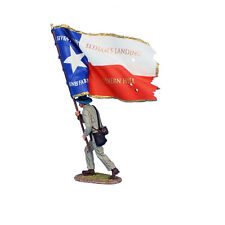MB020 ACW Std. Bearer - 1st Texas State Flag by First Legion
