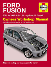 Haynes Workshop Repair Manual Ford Fusion 2002 - 2011 02 - 61 Petrol & Diesel