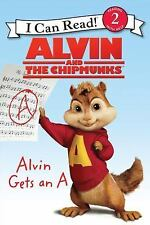 Children's PB Book I CAN READ Leve l2 ~ ALVIN & THE CHIPMUNKS ~ Gets an A