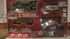 Black Stallion Spirit Of Steam 4 Car Train Set Infra-Red Remote By Goldlok  tr82