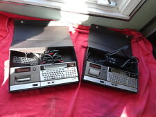 PAIR OF SHARP PC-1500A POCKET COMPUTERS AND CE-150 PRINTER CASSETTE INTERFACES!!