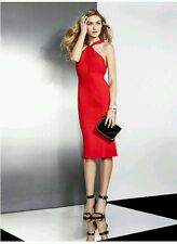 ❤❤ GUESS BY MARCIANO EMILINA STRAPLESS RED HOT PENCIL DRESS ❤❤