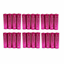 24 pc AA 900mAh Ni-Cd  Ni-Cad 1.2V Rechargeable Battery RC Solar Purple US Stock