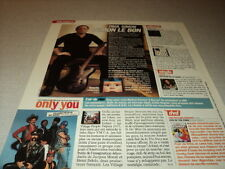 I264 VILLAGE PEOPLE PAUL SIMON ROLLING STONES LESLIE '2006 FRENCH CLIPPING