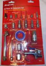 Snap-On 870058 20 piece Air Accessory Kit, 20-Piece New