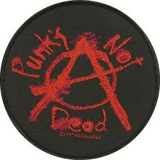 PUNK'S NOT DEAD AUFNÄHER / PATCH