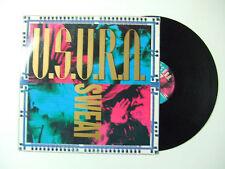 """U.S.U.R.A. – Sweat - Disco Mix 12"""" 33 Giri Vinile ITALIA 1993 Euro House"""