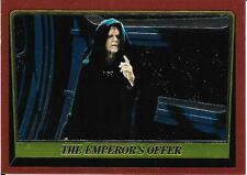 1999 Topps Star Wars Chrome Archives #85 The Emperors Offer   Palpatine