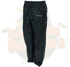 3X 3XL XXXL Frog Togs Frogg Toggs Black Road Toad Motorcycle Reflective Pants
