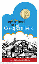 10 x 2012  International Year of Co-operatives $1 Unc Coin, Wholesale Lot