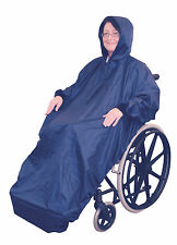 Aidapt Wheelchair Cover Mac Full Eleasticated Snug Fit 100% Waterproof #128ST