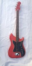 Burns Nu Sonic Bass Guitar-1960's-'The Lost Beatle Bass'-very Rare- VGC