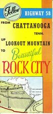 Follow Highway 58 Chattanooga Tennessee to Beautiful Rock City Lookout Mt 1951