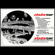 STABO CAR 1967 CIRCUIT SLOT CAR RACING VINTAGE - Pub Publicité Ad Advert #B693