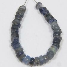 15.80 CTS 100% NATURAL IOLITE DRILLED BEADS 34 PC S-4 MM ON GEMS_STONES_INDIA